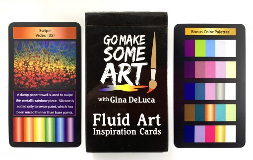 Fluid Art Inspiration Cards